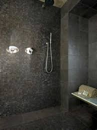 Shower Tile Ideas Small Bathrooms by Amusing Mosaic Ideas For Bathrooms Amusing Retro Dark Mosaic Tile
