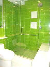 bathroom design sweet green bathroom tiles scheme glass door