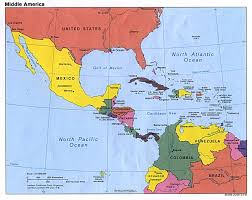 Physical Map Of South America by Map Of Pan America Physical Map Of South America Ezilon Maps