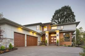 Modern Style Garage Plans 3 Bed Prairie With 2 Story Great Room 69597am Architectural