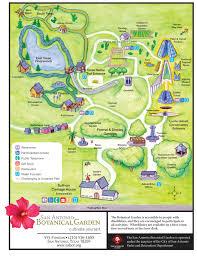 San Antonio Texas Map Garden Map San Antonio Botanical Garden