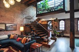 Penthouse Envy Touring Manhattans Stylish Lofts Lofts - Warehouse interior design ideas