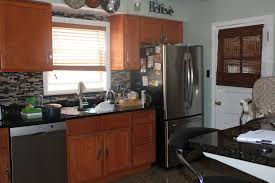 Oak Kitchen Cabinets Refinishing Pictures Of Kitchen Cabinets Painted Cream U2013 Home Improvement 2017