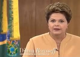 Pronunciamento da presidenta sobre as manifestações