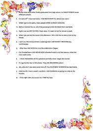 mixed tenses multiple choice worksheet free esl printable