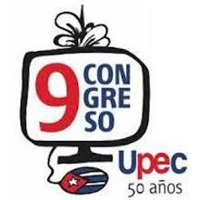 Logotipo del IX Congreso de los periodistas cubanos