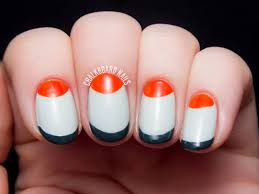 half moon nail art designs gallery nail art designs