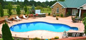 patio swimming pools design unique home plans home design ideas