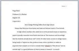 title for college essay