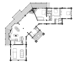 log cabin house plans with garage homes zone