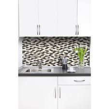 Backsplash Tile For Kitchen Peel And Stick Smart Tiles Murano Stone 10 2 In W X 9 10 In H Peel And Stick