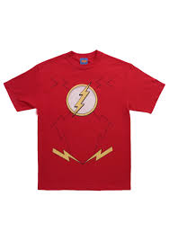 Flash Halloween Costumes Flash Costume Shirt