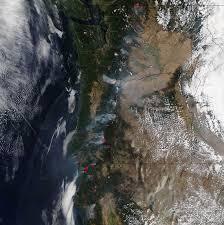 Willow Wildfire California by Sockeye Fire In Alaska Nasa