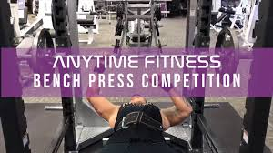 anytime fitness bench press anytime fitness nela