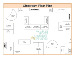 Classroom Floor Plan Builder How To Set Up A Special Education Program