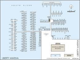 Map Pricing Boat Slips Liberty Marina South River Chesapeake Bay Edgewater