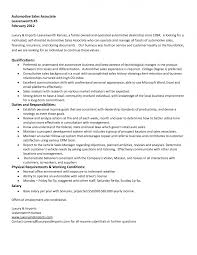 Auto Body Job Description Resume Sample Example Of Business Analyst Resume Targeted To The