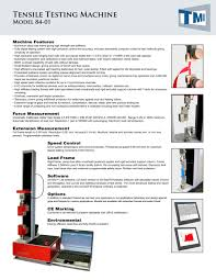 84 01 tensile testing machine testing machines inc pdf 84 01 tensile testing machine 1 2 pages