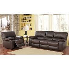 riley top grain leather reclining sofa and chair sam u0027s club