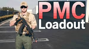 private military contractor pmc tgh condor pc and tactical ak