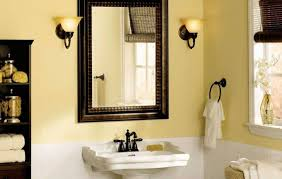 Bathroom Mirror Ideas On Wall Master Bathroom Mirror Ideas Natural Grey Wooden Vanity Drawer