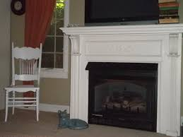 fireplace classic small decoration made from concrete material