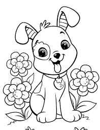 puppy coloring pages olegandreev me