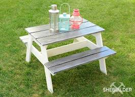 diy kids picnic table step by step guide tinsel u0026 wheat diy
