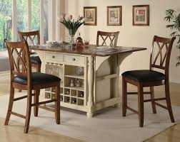 Buttermilk Collection  Counter Height Dining Table Set - Counter height kitchen table