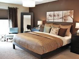 Chocolate Accents by Master Bedroom Contemporary Master Bedroom With Chocolate And