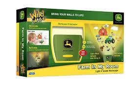 John Deere Kids Room Decor by Amazon Com Uncle Milton John Deere Wild Walls Farm In My Room