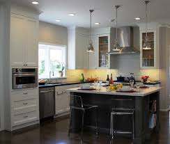 Small Kitchen With White Cabinets Kitchen Designs White Cabinets Grey Island Kitchen Small Kitchen