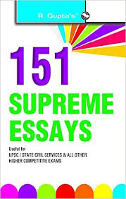 buy english essay books online Buy Supreme Essays UPSC State Civil Services and All Other Higher Competitive Exams Book Online at Low Prices in India Supreme Essays UPSC State Amazon