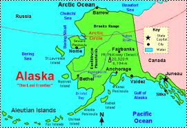 Juneau Alaska Map by Alaska By Jack Kjellsen