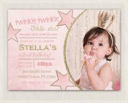 1st birthday princess invitation first birthday invitation gold and pink princess invitations