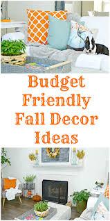 budget friendly fall home decor ideas mom 4 real