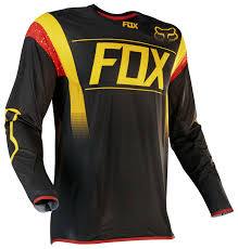 black motocross jersey fox racing flexair mxon jersey cycle gear