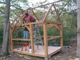 samuel timber frame shed free plans