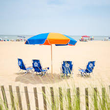 Walmart Beach Umbrellas Virginia Beach Chair Umbrella Rentals Sadgururocks Com