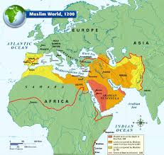 Pictures Of World Map by The Muslim World 1200 History Pinterest Muslim History And