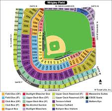 Neyland Stadium Map Wrigley Field Seating Chart