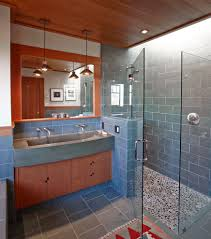 Bathroom Vanity San Francisco by New York Stand Up Shower Bathroom Contemporary With Ceiling