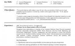 Example of Customer Service Representative Resume Template with Account Management and Rapport Building Expertise