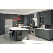 Corner Wall Cabinet Kitchen Fabritec Ready To Assemble 30x34 5x24 5 In Buckingham 2 Deep