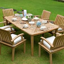 Teak Dining Room Table And Chairs by Premium Teak Dining Table Veranda Collection By Thos Baker