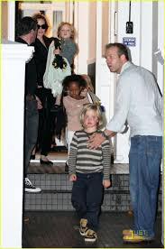 angelina jolie playdate at gwen stefani u0027s house photo 2584282