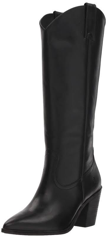 Frye Faye Leather Boot, 7.5, Black