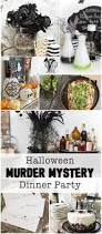 halloween murder mystery dinner party inspired