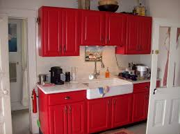 Kitchen Cabinet Colour Brilliant Red And Grey Kitchen Cabinets Awesome Red Kitchen