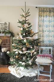 Christmas Tree Ideas 2015 Diy My Eclectic Neutral Tree Clever Bloom